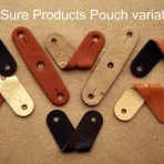 SuperSure Bonded Leather Pouch-3/4″ with 7mm center hole