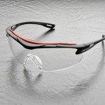 Elvex Safety Glasses-  BrowSpecs wrap around